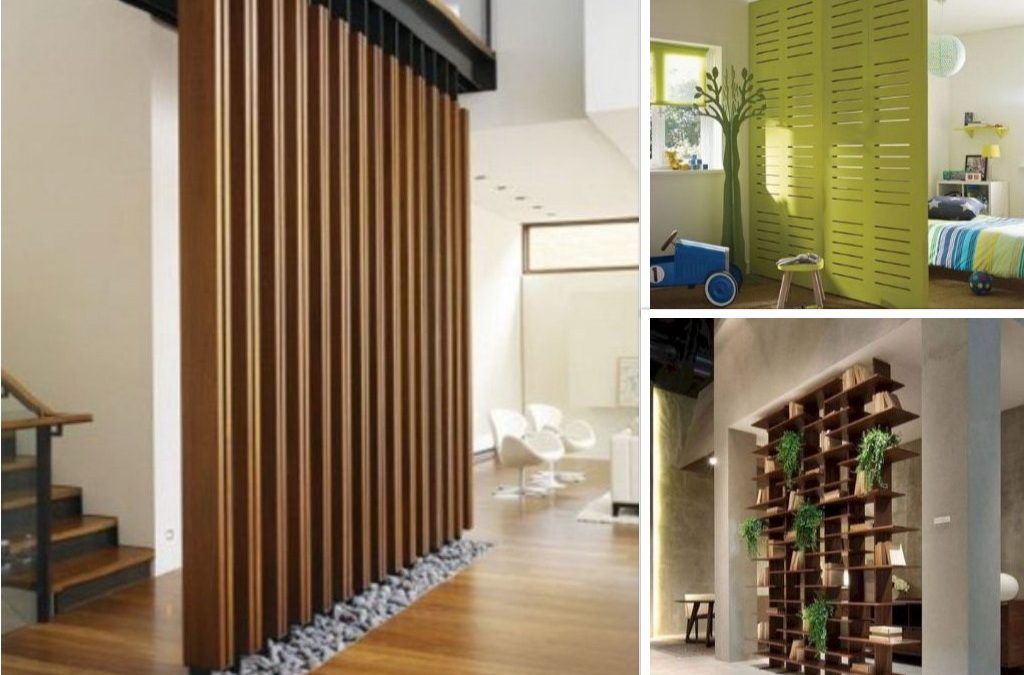 Penggunaan Partisi Kayu Dalam Desain Interior Hunian Open Space